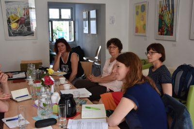 Gespräch mit Freiwilligenagentur SEKIZ e.V., LAGFA Brandenburg & AG Ehrenamt in Potsdam